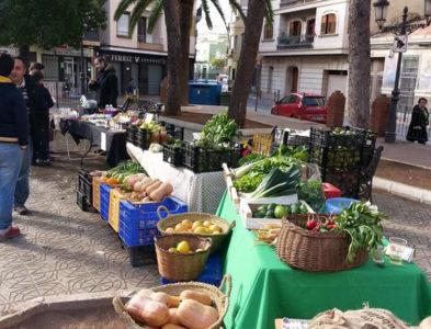 Mercado ecológico Albal